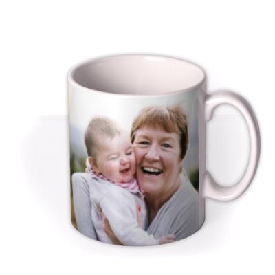 Grandma Personalised Photo Mug