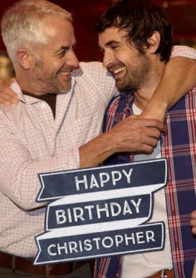 Banner Photo Upload Birthday Card