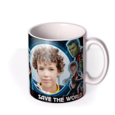 Marvel The Avengers Save The World Birthday Mug