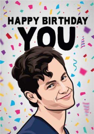 Happy Birthday You Tv Card