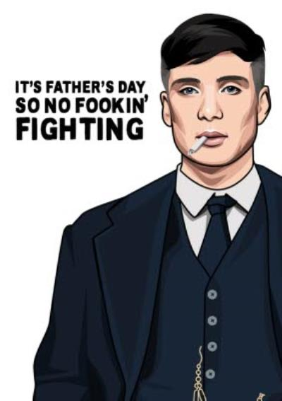 Its Fathers Day So No Fighting Card
