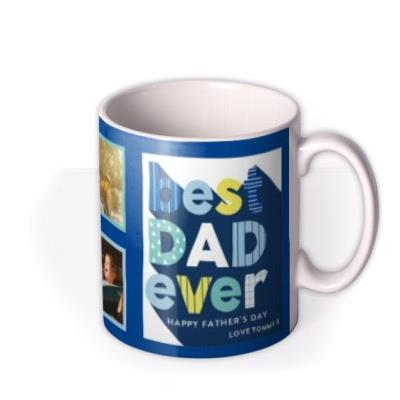 Best Dad Ever Father's Day Photo Upload Mug