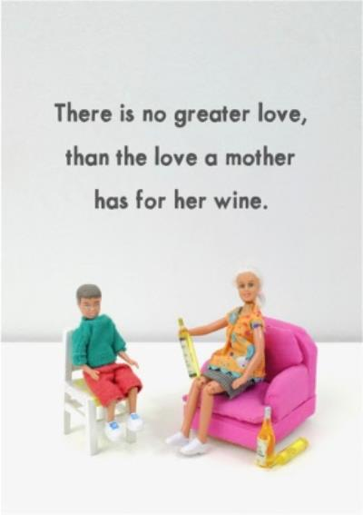Funny Rude There Is No Greater Love Card