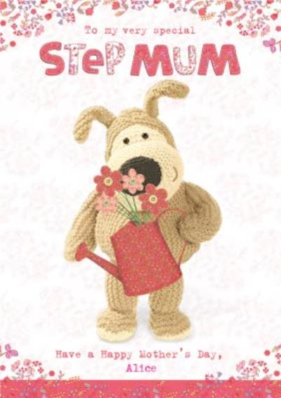 Boofle To My Special Step Mum Mothers Day Card
