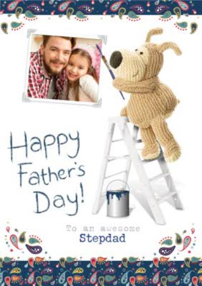 Photo Upload Happy Birthday To An Awesome Step Father Card