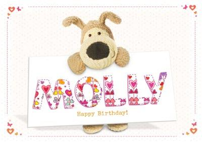 Boofle Birthday Card - Cute Birthday Card
