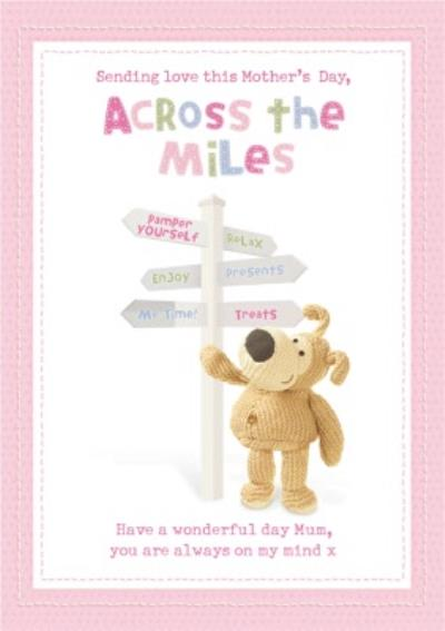 Boofle Sending Love Across The Miles Happy Mother's Day Card