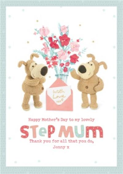 Cute Boofle Lovely Step Mum Mother's Day Card