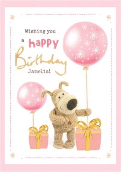 Cute Boofle Wishing You A Happy Birthday Card