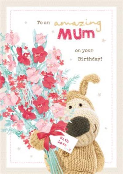 Boofle Amazing Mum Birthday Card
