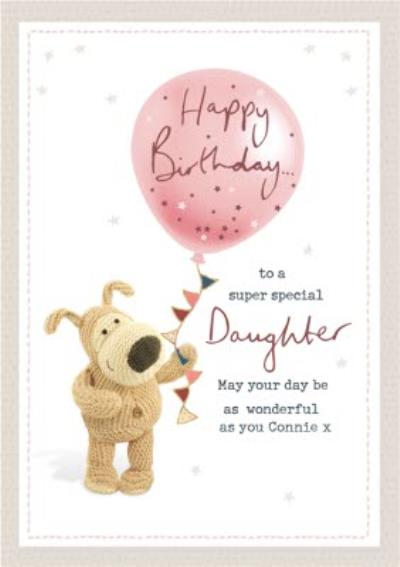 Boofle Super Special Daughter Birthday Card