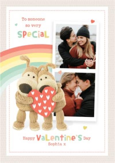 Cute Boofle To Someone Very Special Photo Upload Valentine's Day Card