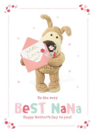 Boofle To The Very Best Nana Mother's Day Card