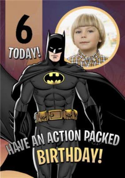 Batman Photo Upload Birthday Card