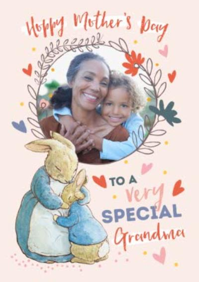 Peter Rabbit To A Very Special Grandma Mother's Day Card