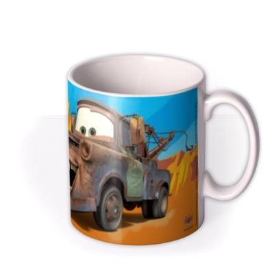 Cars Mater Truck Photo Upload Mug