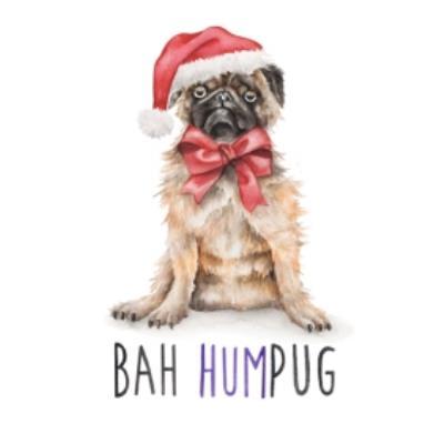 Dog Bah Humpug Humbug Pun Card