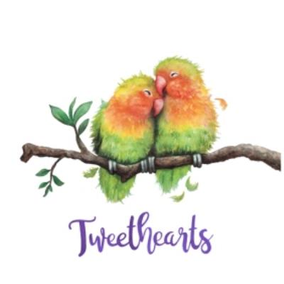 Birds Tweetheart Pun Card
