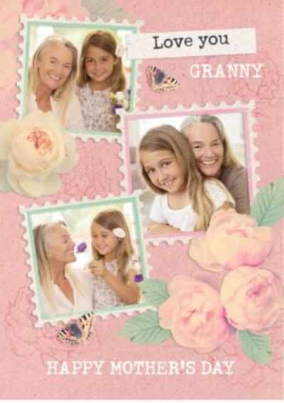 Love You Granny Photo Upload Mother's Day Card