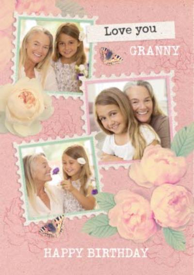 Love You Granny - Photo Upload Birthday Card