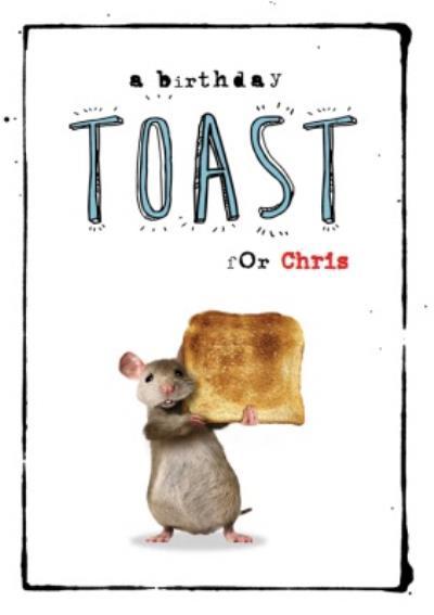 A Birthday Toast - Birthday Card