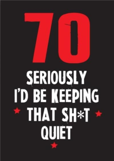 Funny Cheeky Chops 70 Seriously Id Be Keeping That Quiet Card