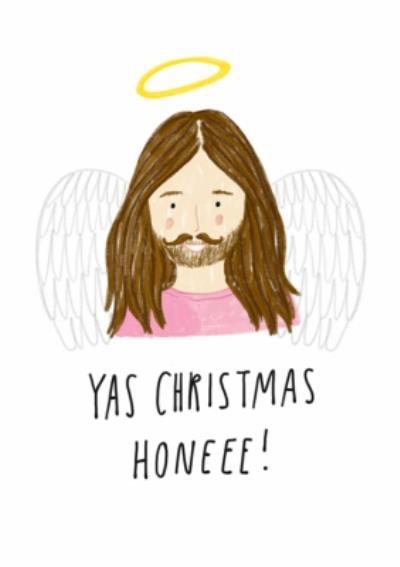 Yas Christmas Honeee Card