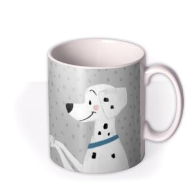 Disney Cute 101 Dalmatians anniversary MUG Pongo & Perdita