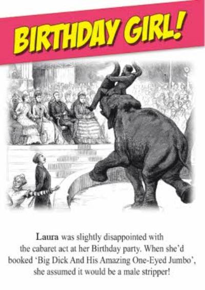 Funny Birthday Card For Women