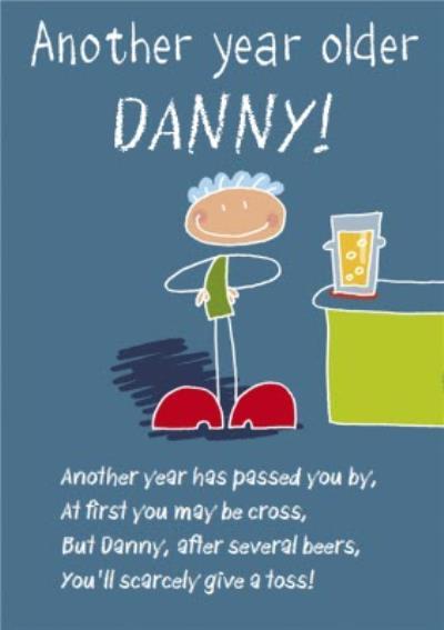 Funny Poem Birthday Card