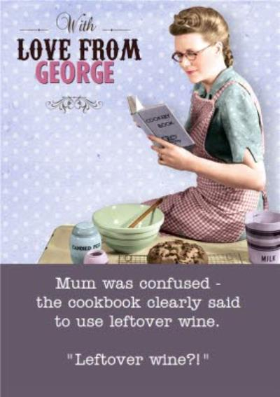 Funny Mums Birthday Card