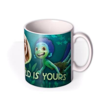 Disney Luca The World Is Yours Photo Upload Mug