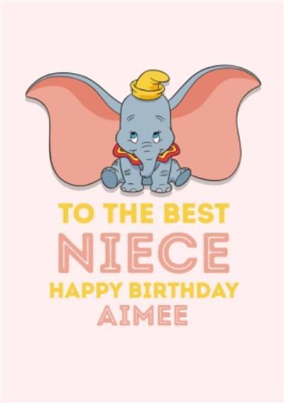 Disney Dumbo Best Niece Birthday Card