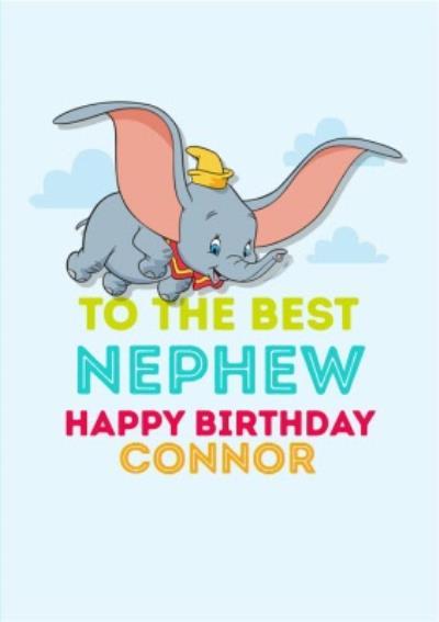 Disney Dumbo Best Nephew Birthday Card