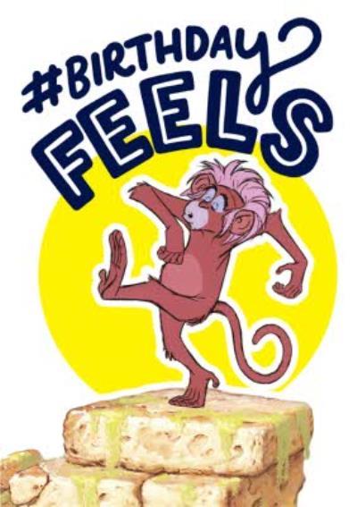 Disney Jungle Book Birthday Feels Funny Birthday Card