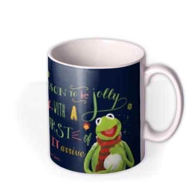 The Muppets Kermit Tis The Season Christmas Mug