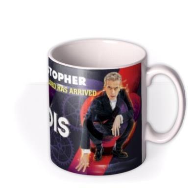 Doctor Who Tardis Personalised Mug
