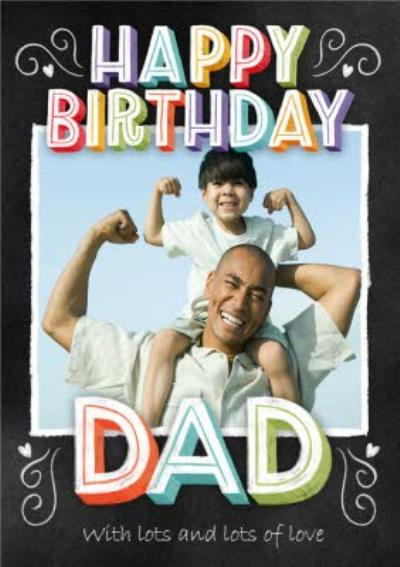 Photo Upload Happy Birthday Dad Card