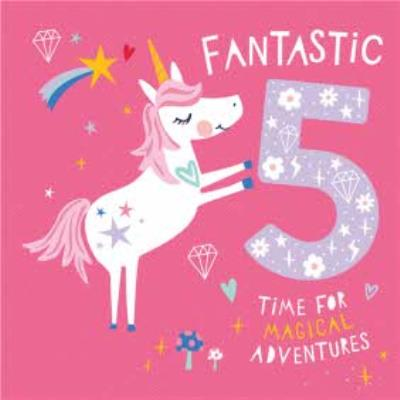 Fantastic Five Time For Magical Adventures Card