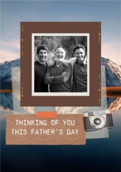 Photographic Photo Upload Father's Day Card Thinking Of You