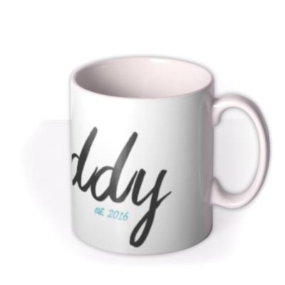 Father's Day Daddy Year Personalised Mug