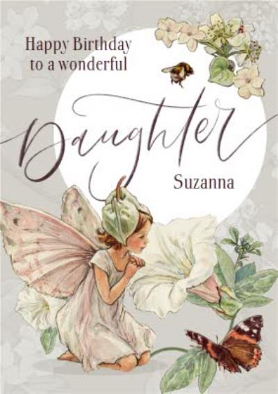 Flower Fairies Wonderful Daughter Birthday Card
