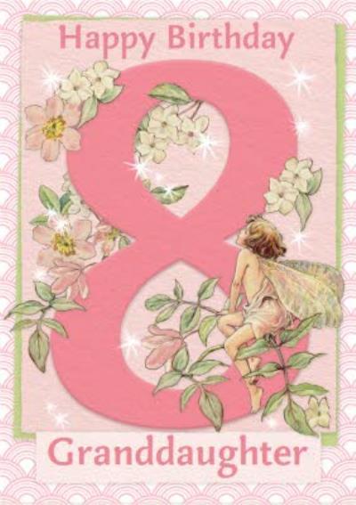 Flower Fairies 8th Birthday Card
