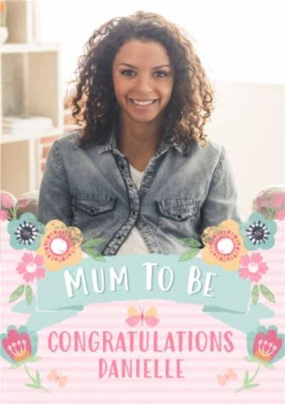 Mother's Day Card - Mum to Be - Photo Upload