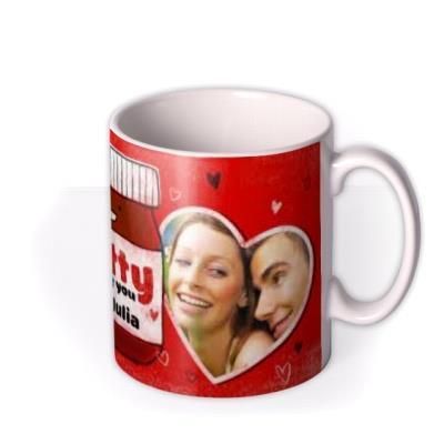 Valentine's Day Nutty Photo Upload Mug