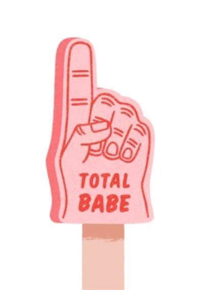 Folio Total Babe Fan finger Card