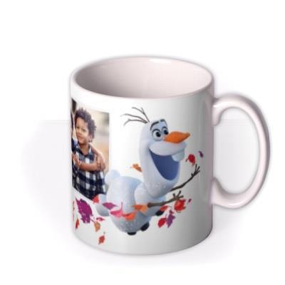 Disney Frozen 2 Olaf Photo upload Mug