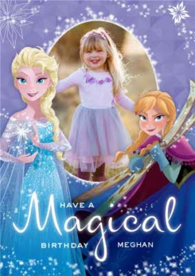 Have A Magical Birthday Photo Upload Card