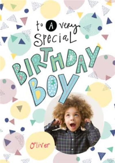 To A Special Birthday Boy Card
