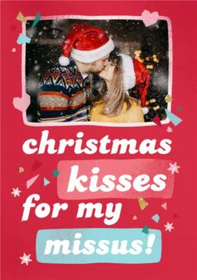 Christmas Card - Photo Upload - Missus - Wife - Girlfriend